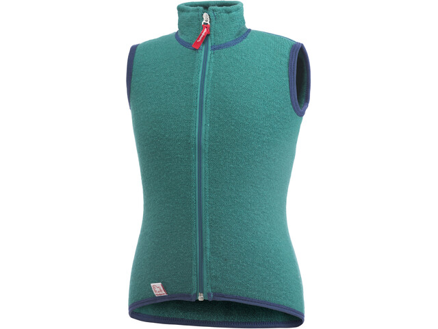 Woolpower 400 bodywarmer Kinderen, turtle green